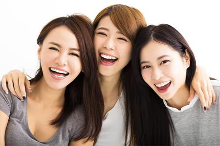 笑顔に自信が持てる素敵な日々に