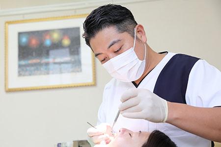 患者さまの歯を大切にする治療